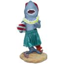 Hawaii miniature Dashboard Hula Doll - Shark with Surfboard