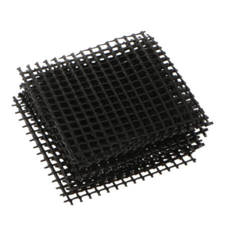 10er Set Bonsai Abdeckgitter  für Entwässerungslöcher, 10,5x10,5cm, zum Zuschneiden