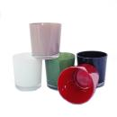 Overpot-Flowerpot glass conan 13cm different colors
