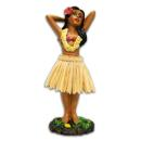 Hawaii miniature Dashboard Hula Doll - Girl