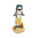 Hawaii miniature Dashboard Hula Doll - shark with...