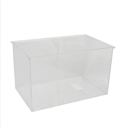 Empty plastic aquarium, small