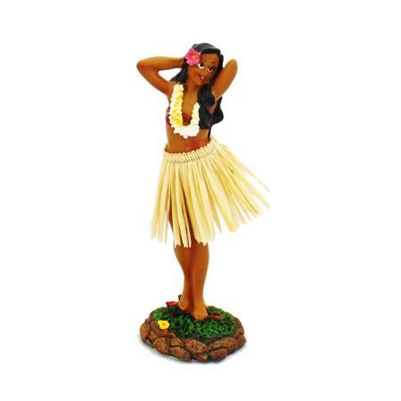 Hawaii miniature Dashboard Hula Doll - Girl Posing groß